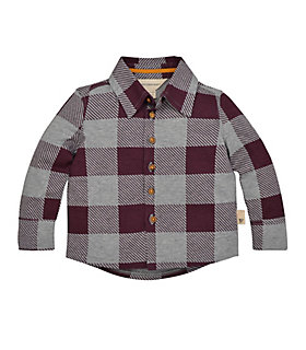 Buffalo Check Button Front Shirt