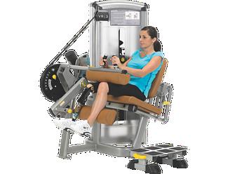 VR3 Seated Leg Curl w/Start RLD