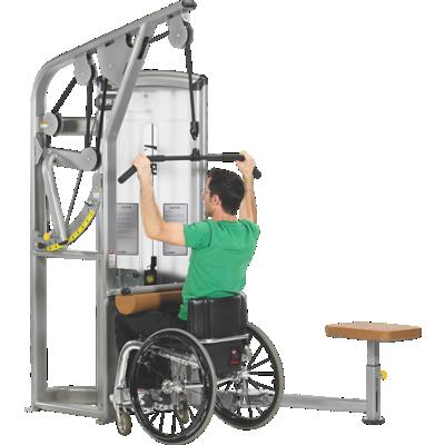 جهاز السحب العمودي لتدريب عضلة الظهر العريضة VR3