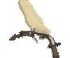 Adjustable -10º to 80º Bench