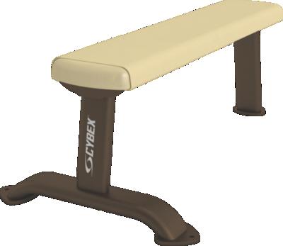 تمرين الصدر بالكابل على مقعد مستوي