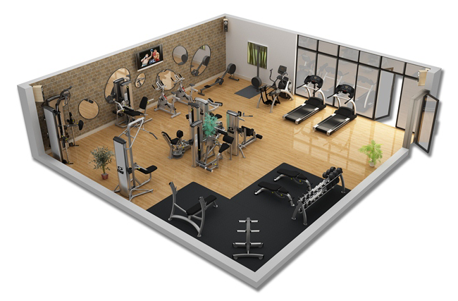 Home gym design layout download foto gambar wallpaper for Gym layout design software free
