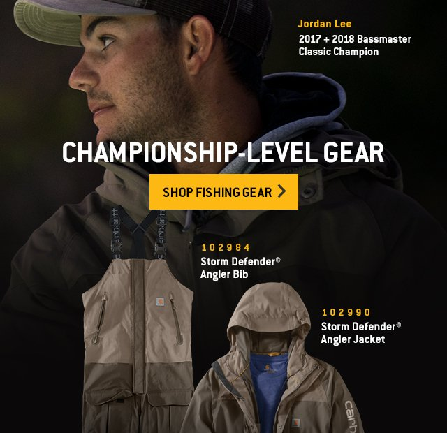 Championship-level gear, shop fishing gear