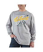Men�s Graphic Cornhartt Long-Sleeve T-Shirt