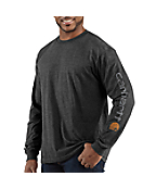 Men�s Graphic Deer Long-Sleeve T-Shirt