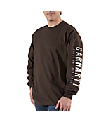 Men�s Graphic Strength Back Long-Sleeve T-Shirt