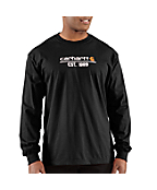 Men's Classic Logo Long-Sleeve T-Shirt
