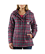 Women�s Camden Plaid Wool Parka