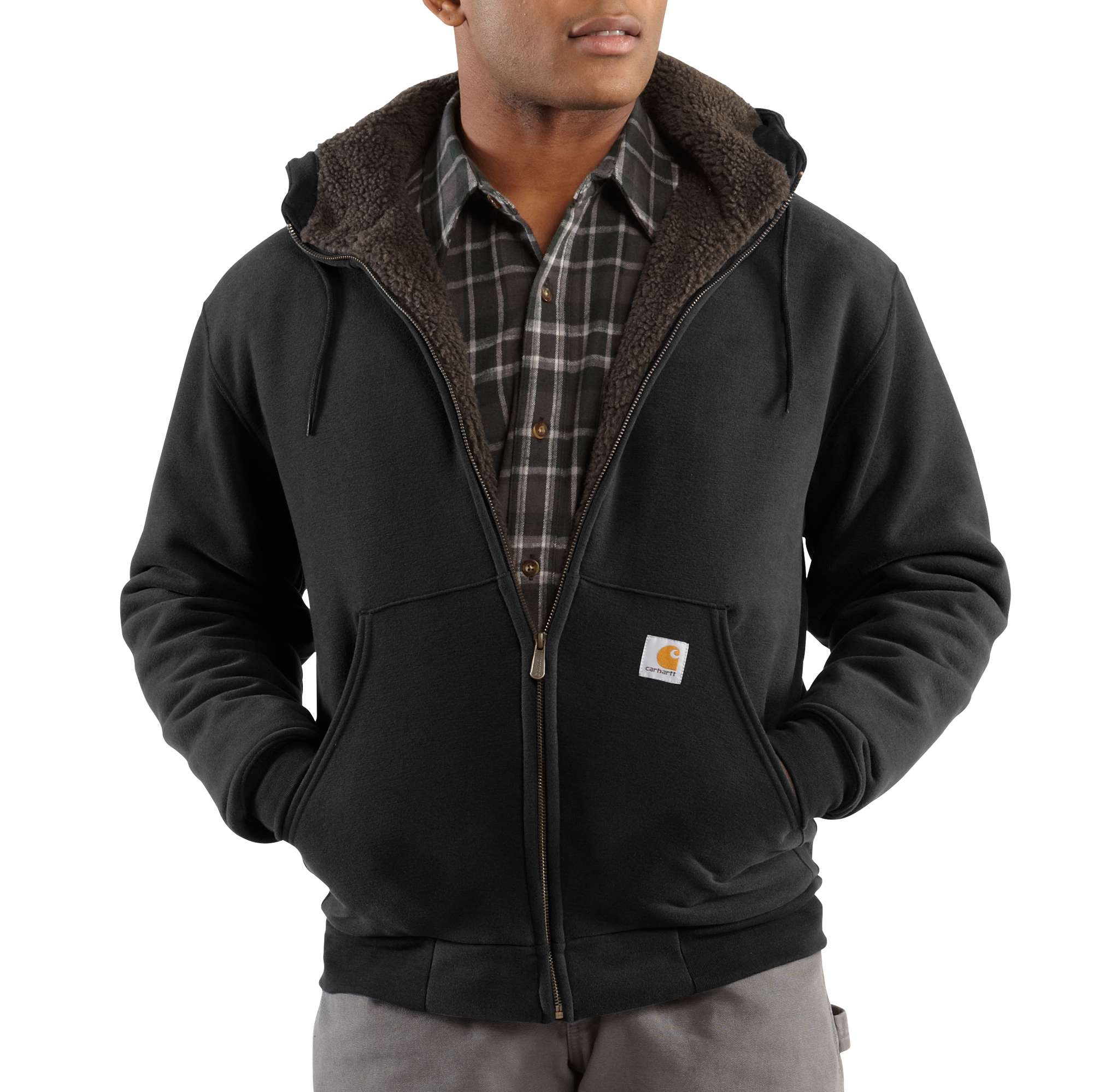 Carhartt Collinston Brushed Fleece Sherpa-lined Sweatshirt