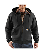Men's Brushed Fleece Hooded Zip Sweatshirt