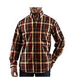 Men�s Bellevue Plaid Long-Sleeve Shirt
