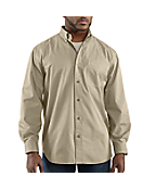 Men�s Hines Solid Long-Sleeve Shirt