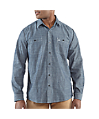 Men's Linwood Solid Slim Long-Sleeve Shirt