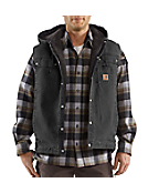 Men's Sandstone Hooded Multi-Pocket Vest
