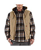 Men's Sandstone Hooded Active Vest