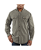 Discontinued - Men�s Fort Plaid Long-Sleeve Shirt