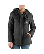 Women's Camden Solid Wool Parka