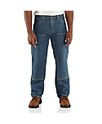 Men's Flame-Resistant Utility Denim Double-Front Jean - Relaxed Fit