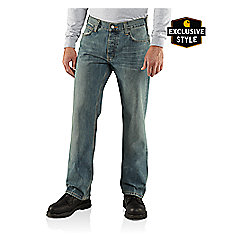 Series 1889 Button-Fly Relaxed-Fit Bootcut Jean