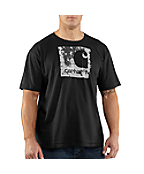 Men's Graphic Spackled Logo Short-Sleeve T-Shirt