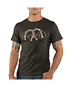 Men's Graphic Horseshoes Short-Sleeve T-Shirt