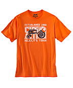 Men's Graphic Tractor Short-Sleeve T-Shirt