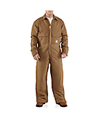 Men�s Flame-Resistant Duck Coverall/Quilt-Lined
