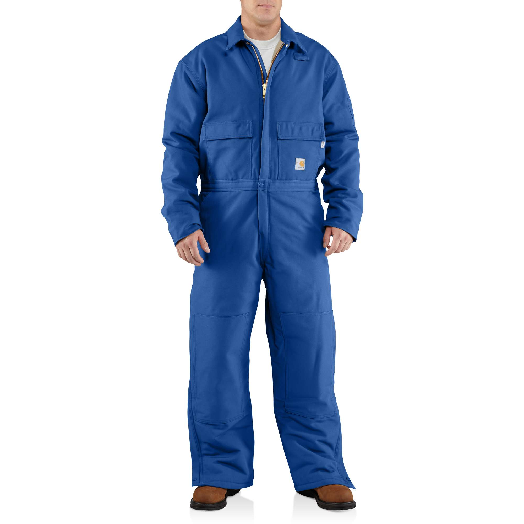 Carhartt Flame-resistant Duck Coverall/quilt-lined Royal 2XLTL
