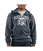 Men's Graphic Ace 89 Zip-Front Brushed Hooded Sweatshirt