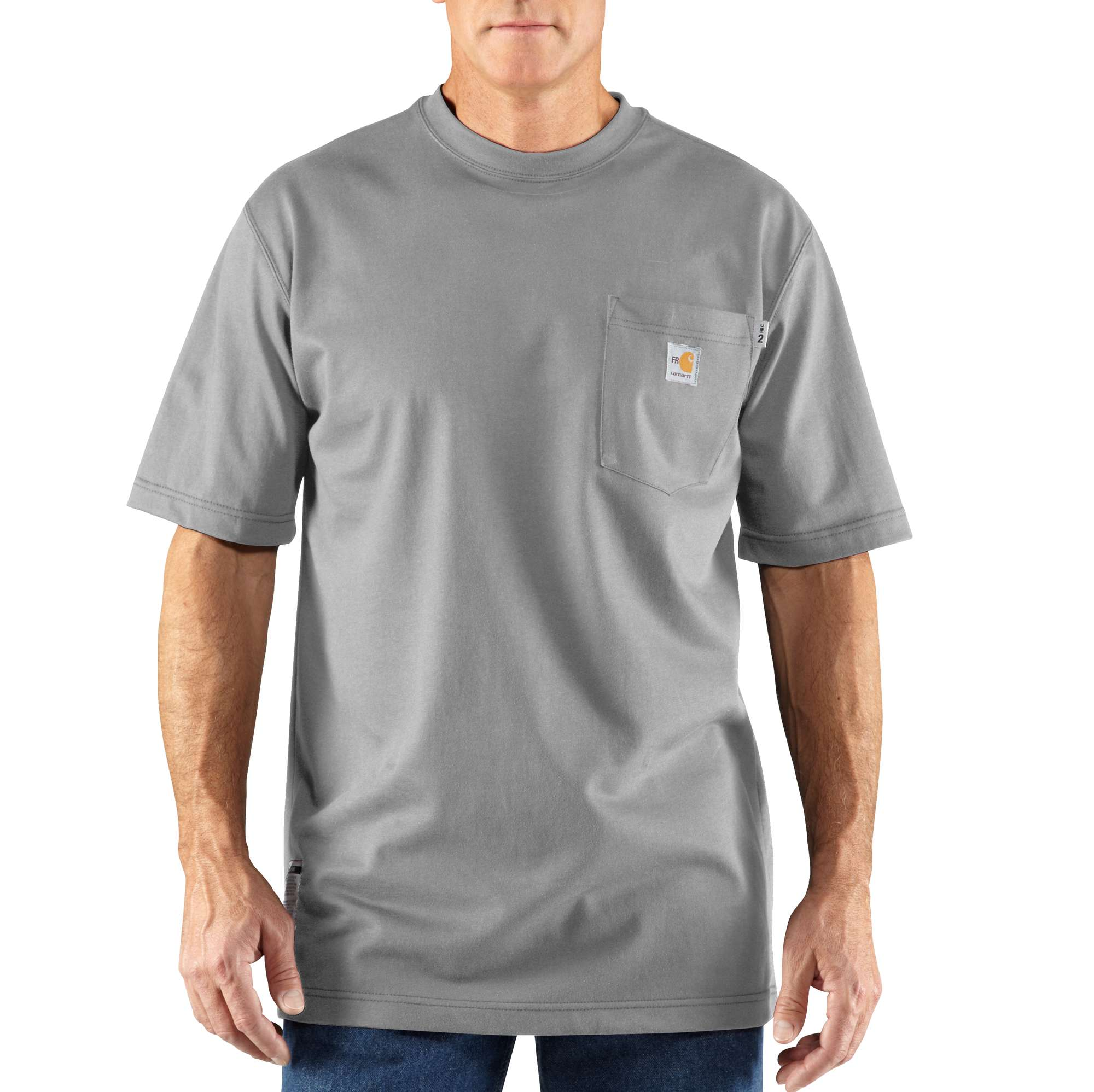 Flame-Resistant Carhartt Force Short-Sleeve T-Shirt