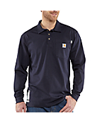 Men's Flame-Resistant Force™ Cotton Long-Sleeve Polo