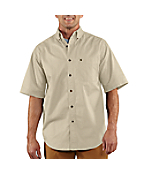 Men's Hines Solid Short-Sleeve Shirt