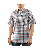 Men�s Fort Plaid Short-Sleeve Shirt