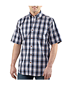 Men�s Bellevue Plaid Short-Sleeve Shirt