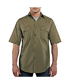 Men�s Standish Solid Short-Sleeve Shirt