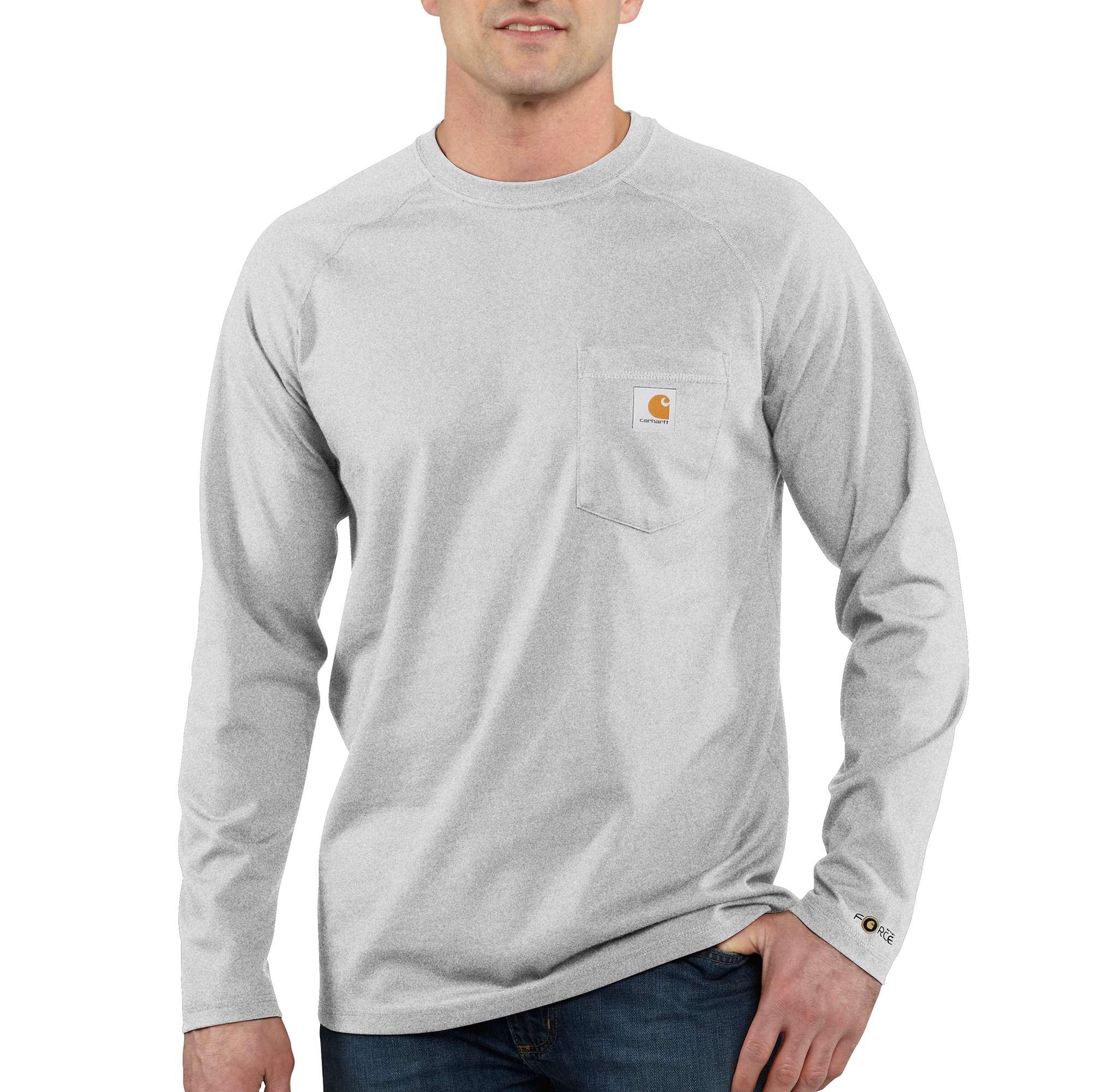 Carhartt Carhartt Force Cotton Delmont Long-sleeve T-shirt