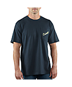 Men�s Graphic Steelhead Fishing Short-Sleeve Pocket T-Shirt