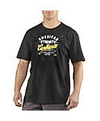 Men�s Graphic American Strength Short-Sleeve T-Shirt