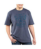 Men's Graphic Bull Short-Sleeve T-Shirt