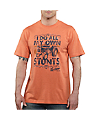 Men�s Graphic Stuntman Short-Sleeve T-Shirt