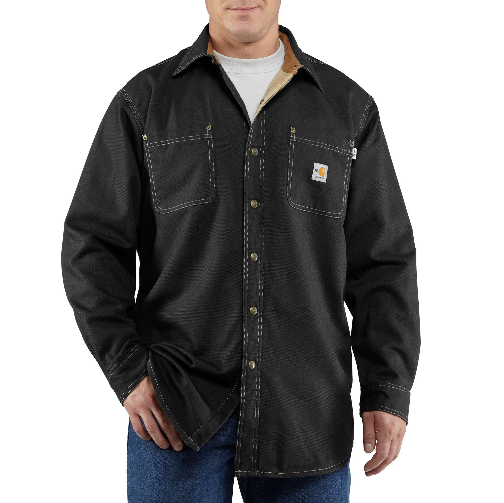 Carhartt Flame-Resistant Canvas Shirt Jac