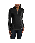 Women's Carhartt Force®  Performance Quarter-Zip Shirt