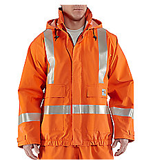 Men's Flame-Resistant Rain Jacket