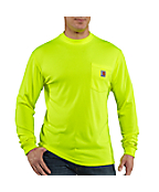 Men's Carhartt Force® Color Enhanced Long-Sleeve T-Shirt