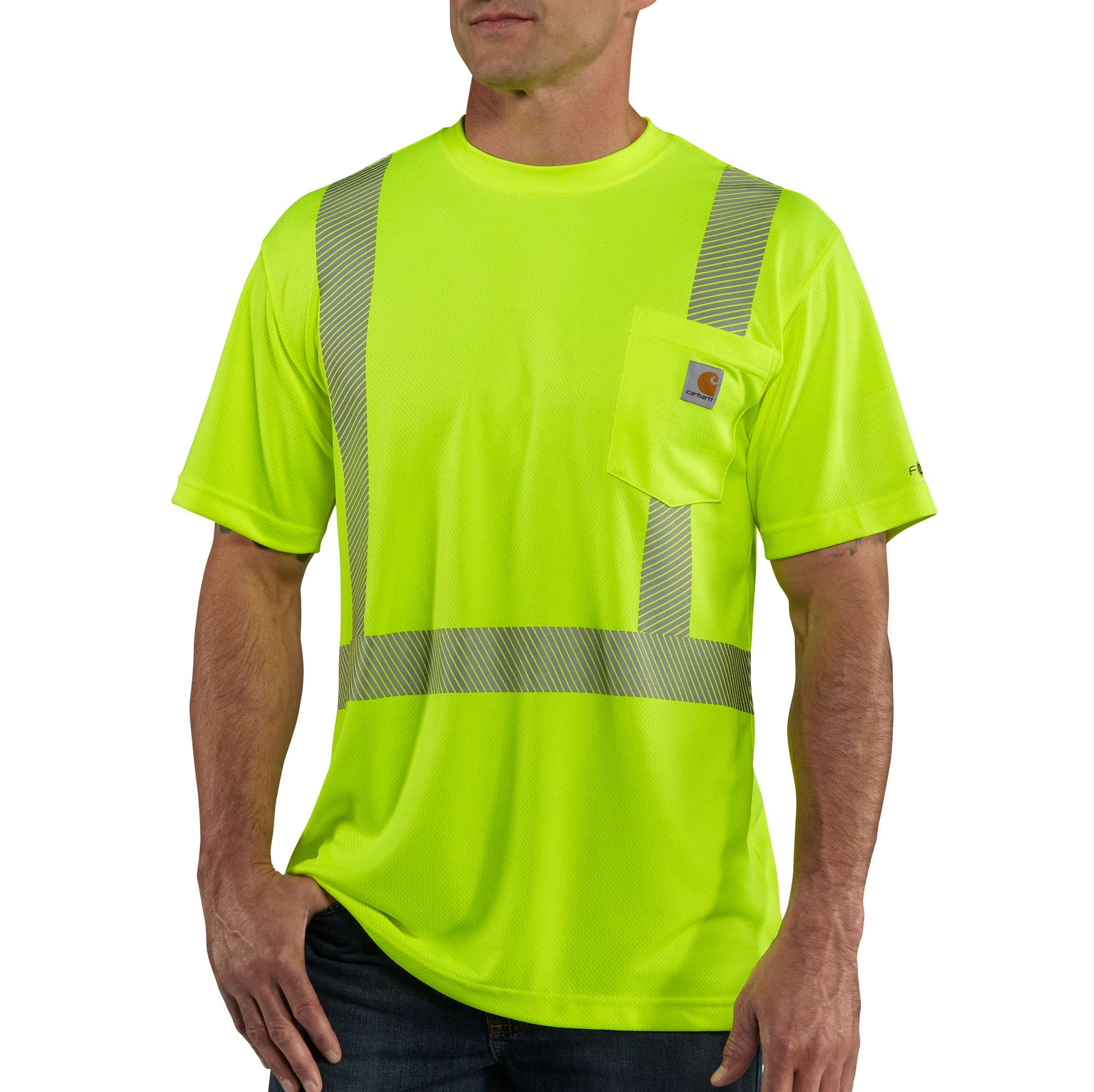 Carhartt Carhartt Force High-visibility Short-sleeve Class 2 T-shirt