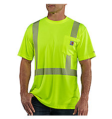 Men's Carhartt Force® High-Visibility Short-Sleeve Class 2 T-Shirt