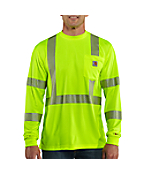 Men�s Force™ High-Visibility Long-Sleeve Class 3 T-Shirt