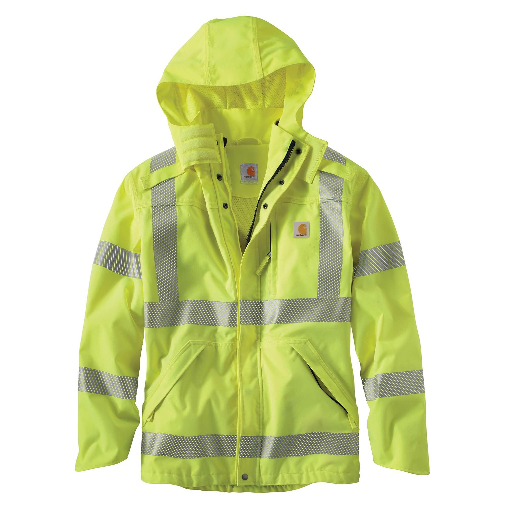 Carhartt High-Visibility Class 3 Waterproof Jacket