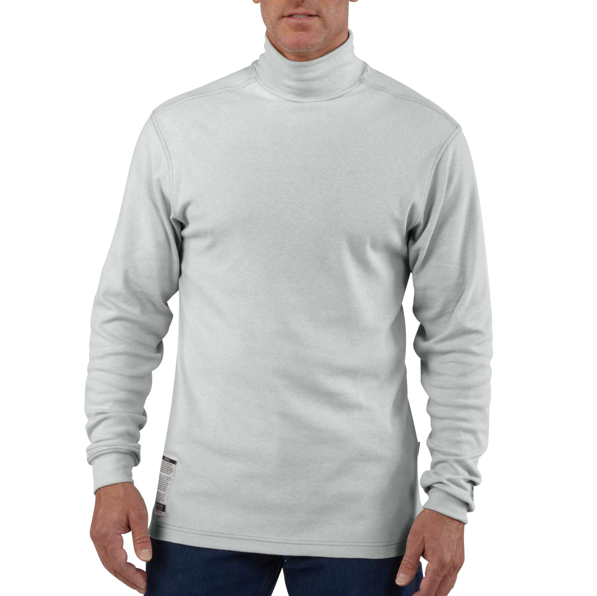 Carhartt Flame-resistant Carhartt Force Cotton Long-sleeve Mock Turtleneck