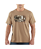 Men�s Graphic �Photo Train� T-shirt